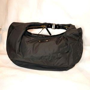 Kate Spade Black Nylon Baguette Shoulder Bag